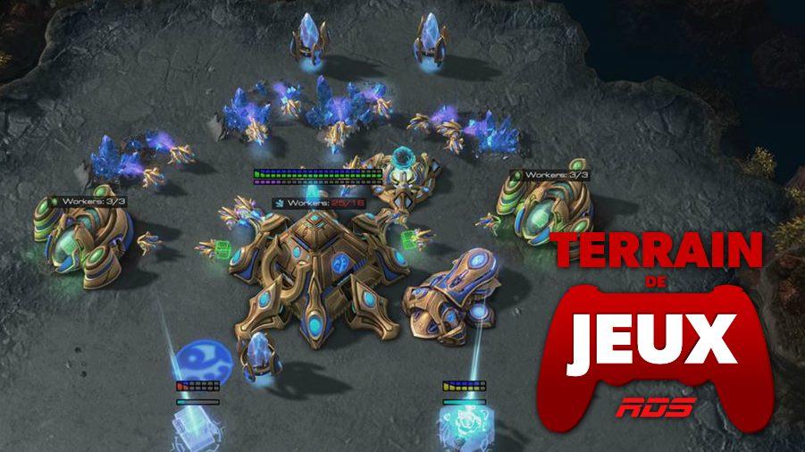 terrain de jeux deepmind starcraft