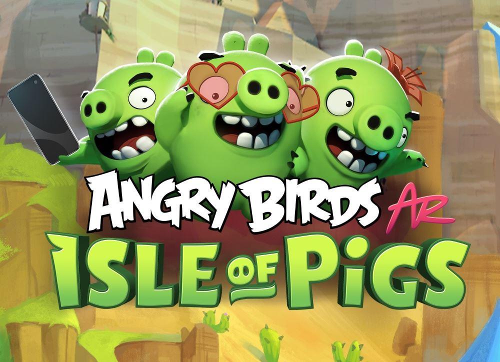 Angry Birds Isle of pigs AR