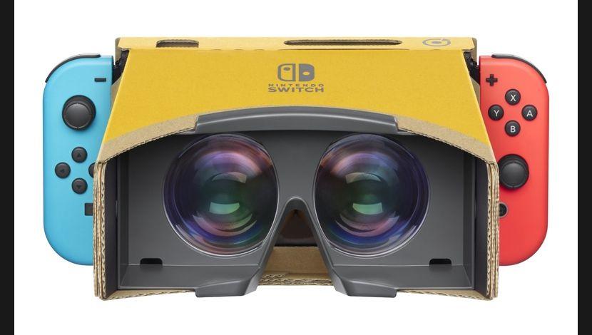 Le nouveau kit de Nintendo Labo veut plonger les enfants dans la réalité virtuelle