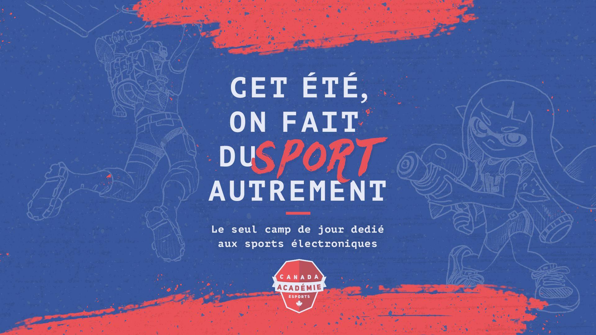 Inscriptions ouvertes pour les camps de jour de l'Académie Esports