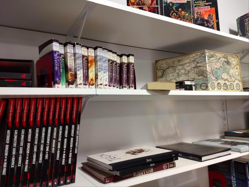 La bibliothèque Dungeons and Dragons de Tuque Games
