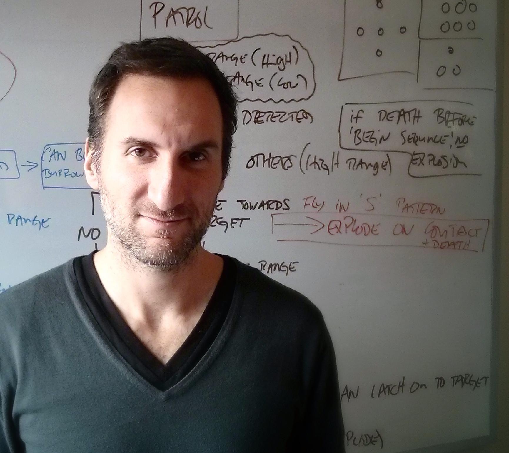 Jeff Hattem, fondateur Tuque Games