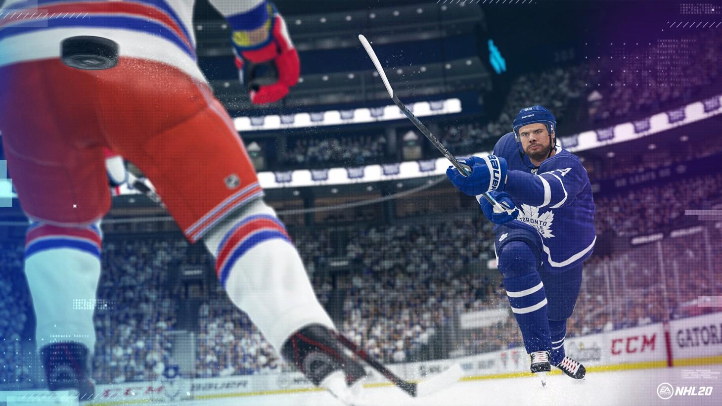 NHL 20 : une nouvelle bande-annonce présente les nouveautés