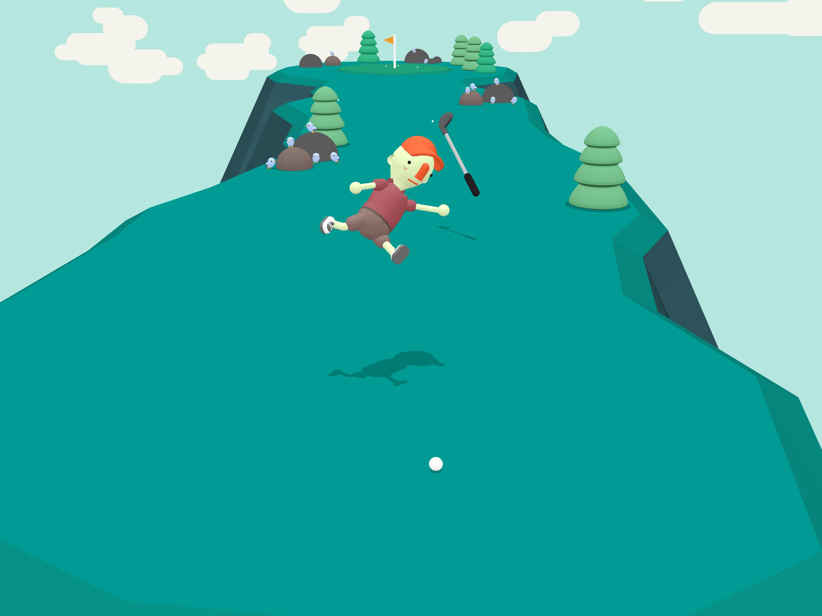 What The Golf : On ne joue pas seulement avec des balles