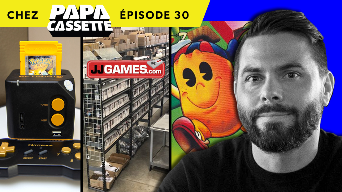 Chez Papa Cassette Épisode 30 - JJ Games, Retron Jr, Acquisitions Game Boy
