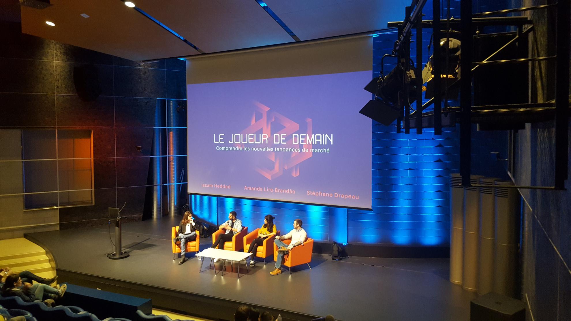 Conférence & Cocktail Level up : enjeux jeux vidéo pour la nouvelle décennie