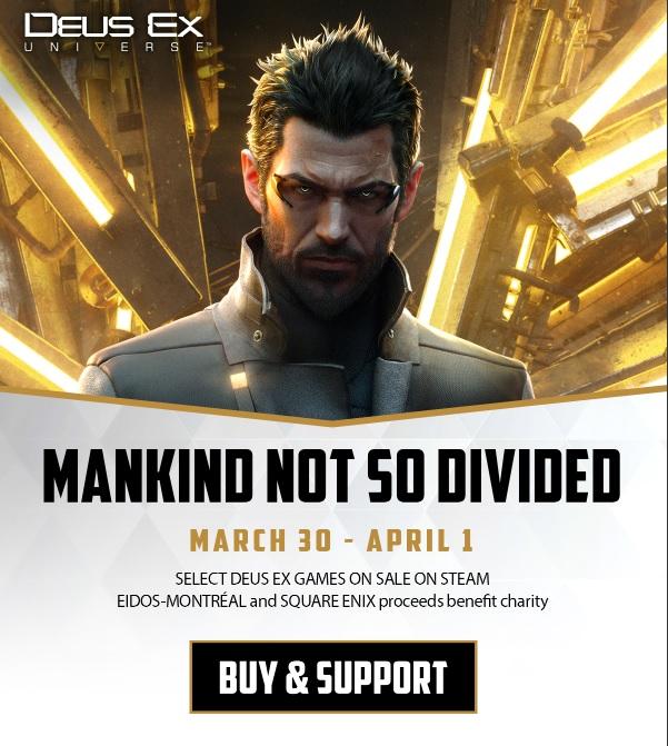 Eidos Montréal reverse les bénéfices de Deus Ex à la lutte contre le Covid-19