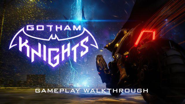 Batcycle Gotham Knights