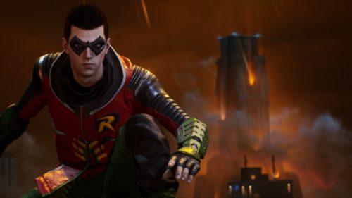 Robin dans Gotham Knights
