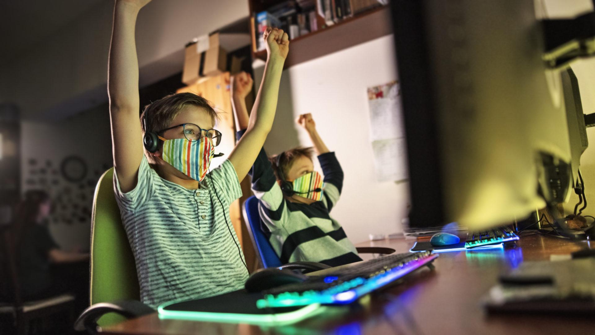 jeux vidéo confinement OMS santé mentale effets bénéfiques