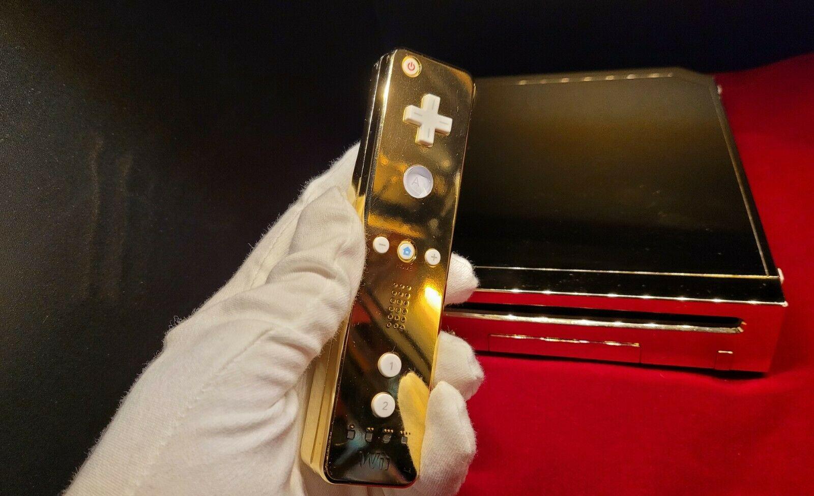 O Gold Nintendo Wii Queen Elizabeth II vai a leilão