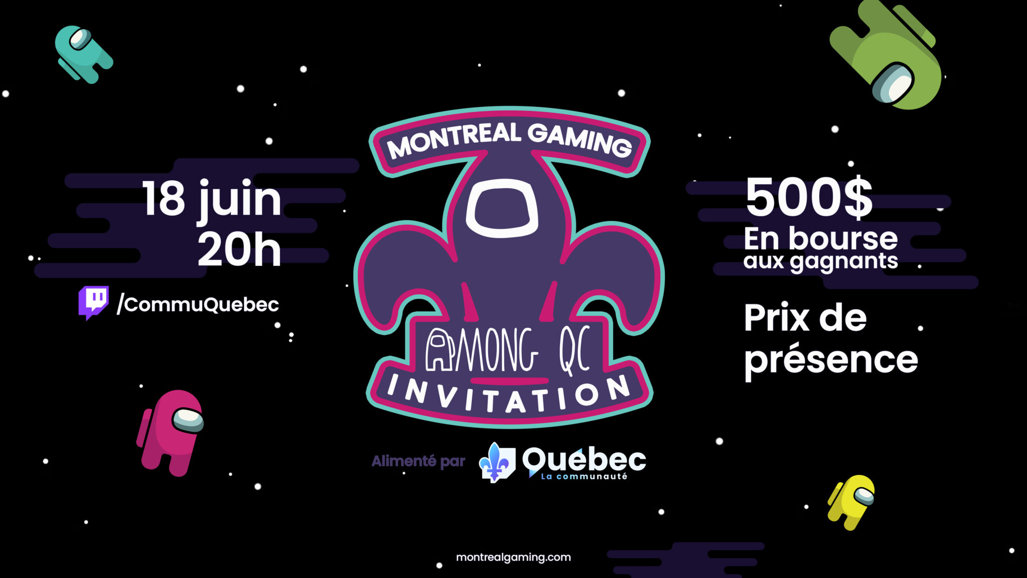 montreal gaming among us