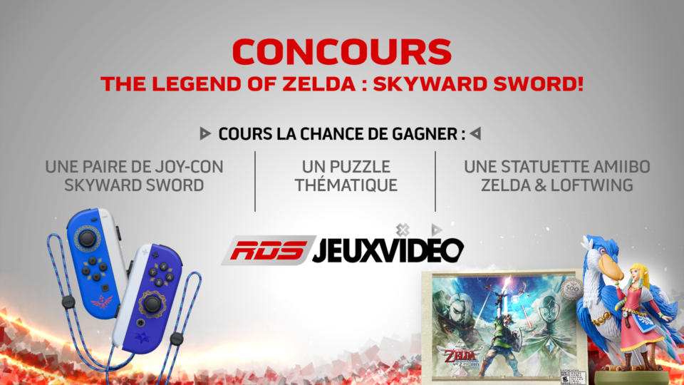 concours nintendo zelda rds jeux vidéo