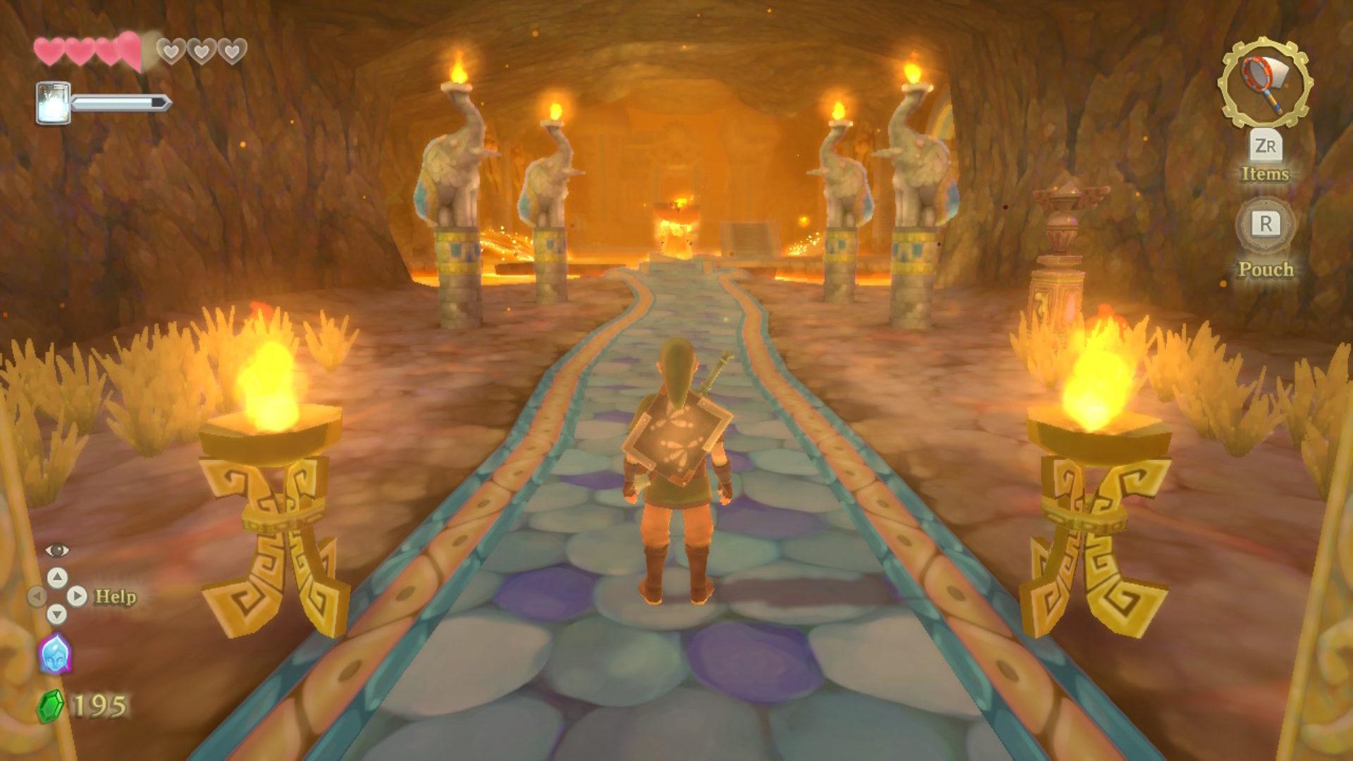 The Legend of Zelda's Sword Críticas Skyward