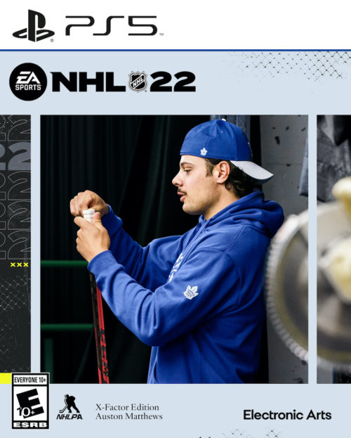 nhl 22 cover ps5 x-factor