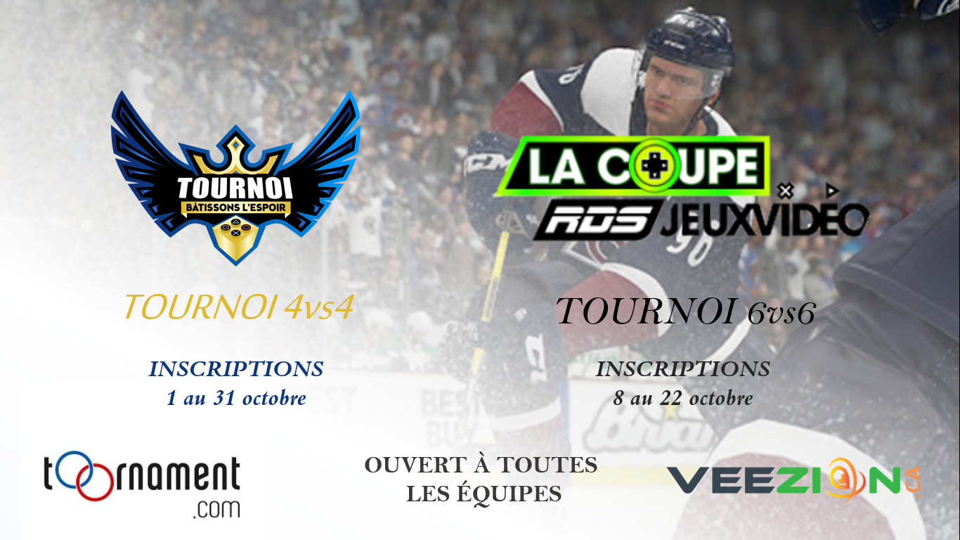 NHL 21, F1 Esports and LoL Worlds tournaments